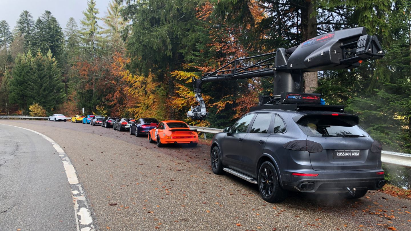Behind the scenes commercial «The Heist», 2020, Porsche AG