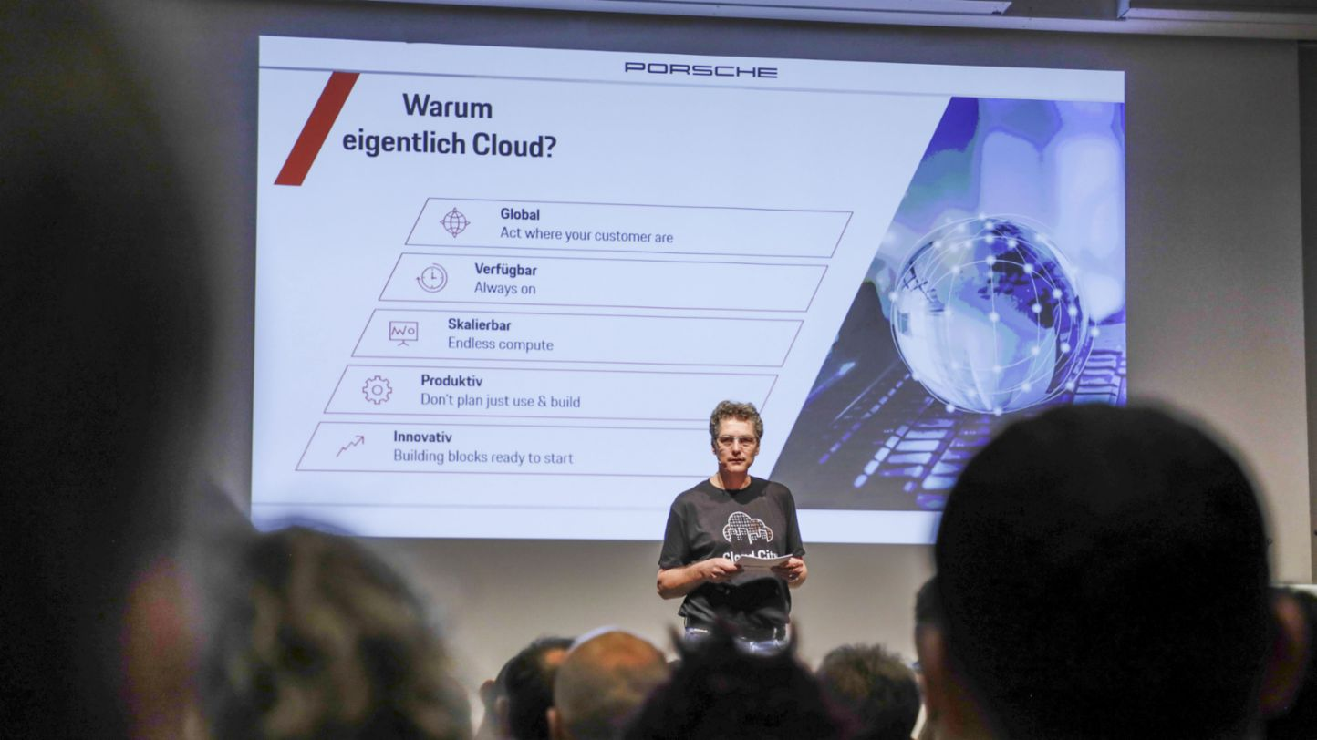 Impressions of the Cloud Innovation Day at Porsche, 2020, Porsche AG
