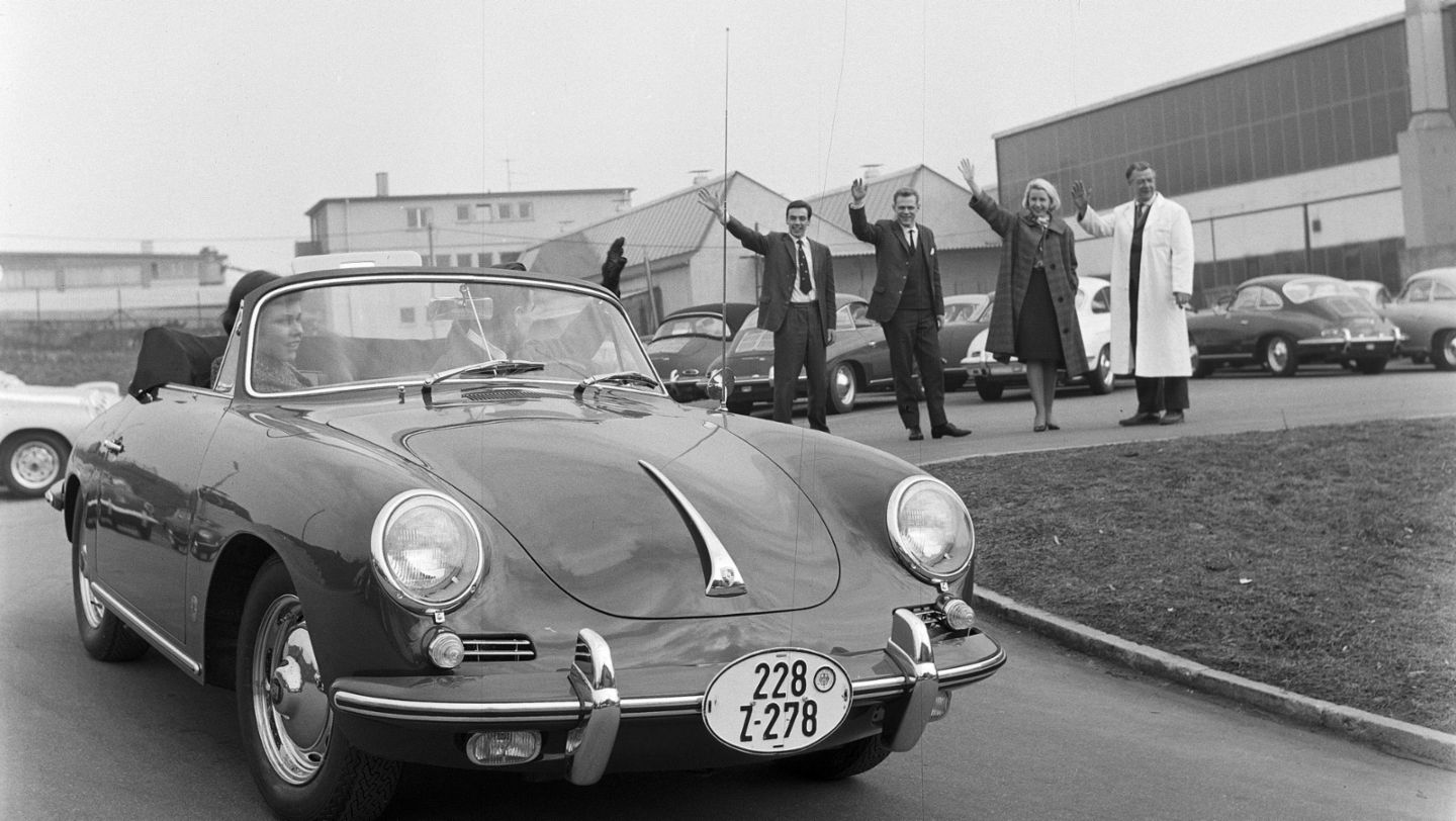 356 B (T6), car collection, 1962, Porsche AG