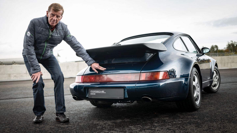 Walter Röhrl, 911 Turbo (964), 2020, Porsche AG