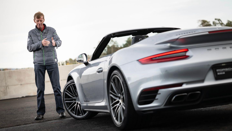 Walter Röhrl, 911 Turbo (991.2), 2020, Porsche AG