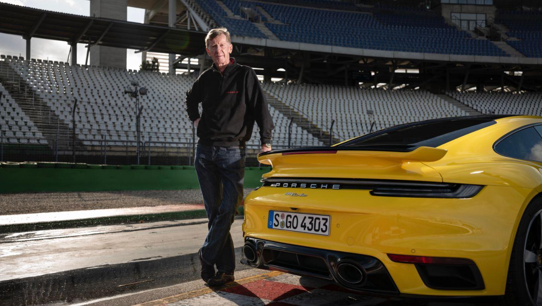 Walter Röhrl, 911 Turbo (992), 2020, Porsche AG