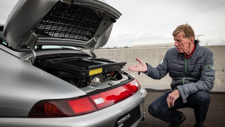 Walter Röhrl, 911 Turbo (993), 2020, Porsche AG