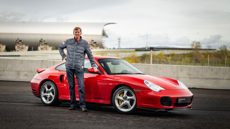 Walter Röhrl, 911 Turbo (996), 2020, Porsche AG
