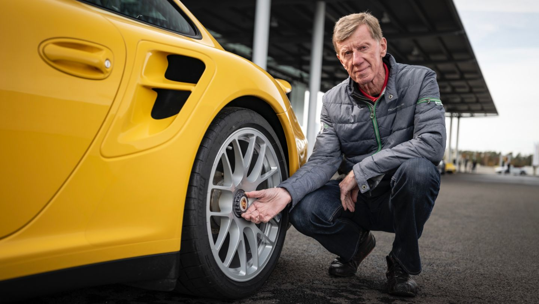 Walter Röhrl, 911 Turbo (997.2), 2020, Porsche AG