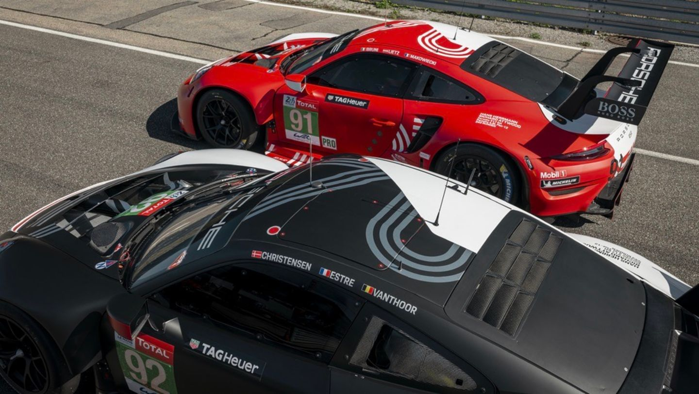 911 RSR with special livery, FIA WEC, Le Mans, 2020, Porsche AG
