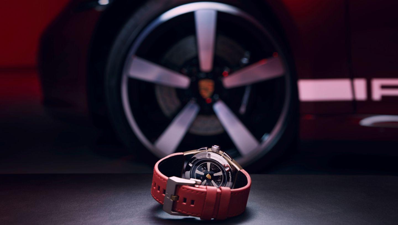 911 Targa 4S Heritage Design edition chronograph, 2020, Porsche AG