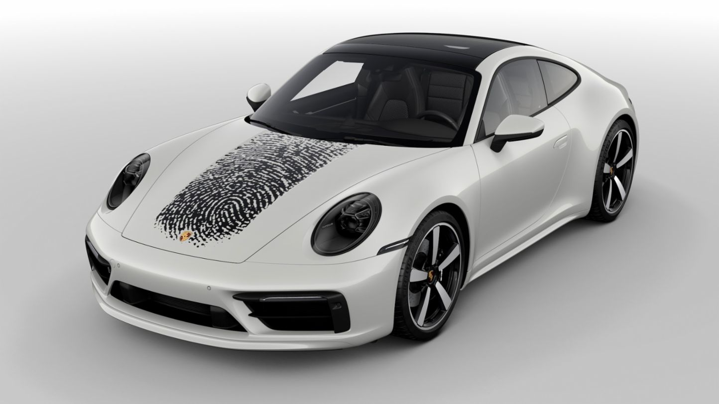 911, Direct printing method, 2020, Porsche AG
