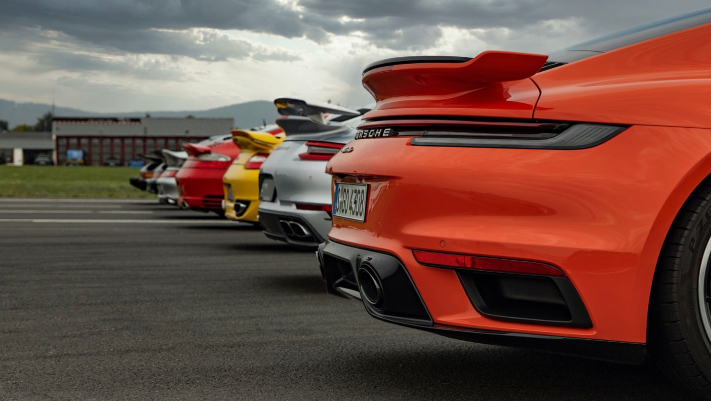 930, 911 Turbo (964), 911 Turbo (993), 911 (996), 911 Turbo (997II), 911 Turbo (991II), 911 Turbo (992), Hockenheimring, 2020, Porsche AG