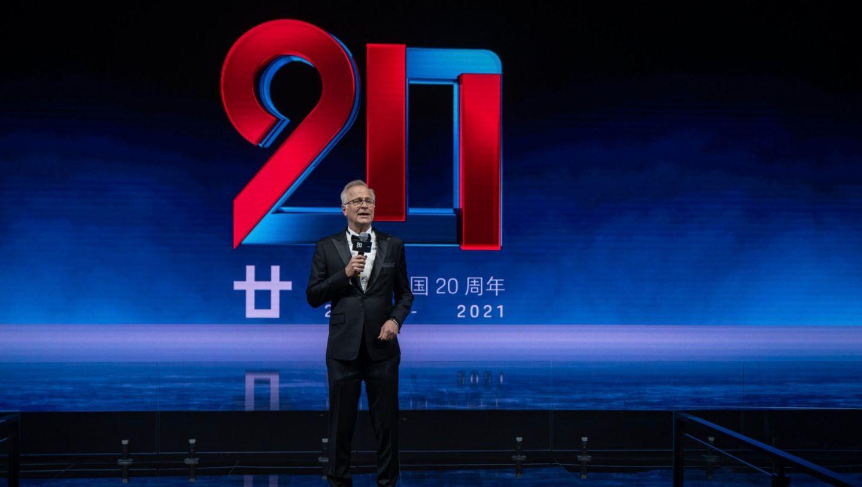 Jens Puttfarcken, President and Managing Director of Porsche China, 2021, Porsche AG