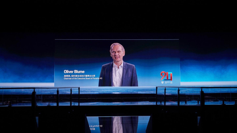 Oliver Blume, Chairman of the Executive Board of Porsche AG, 2021, Porsche AG