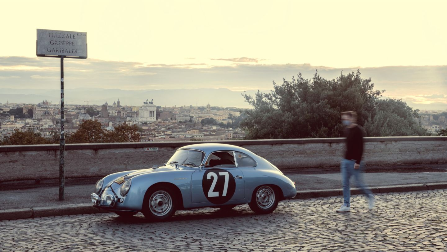 The Porsche 356 on the road to Rome - Image 4