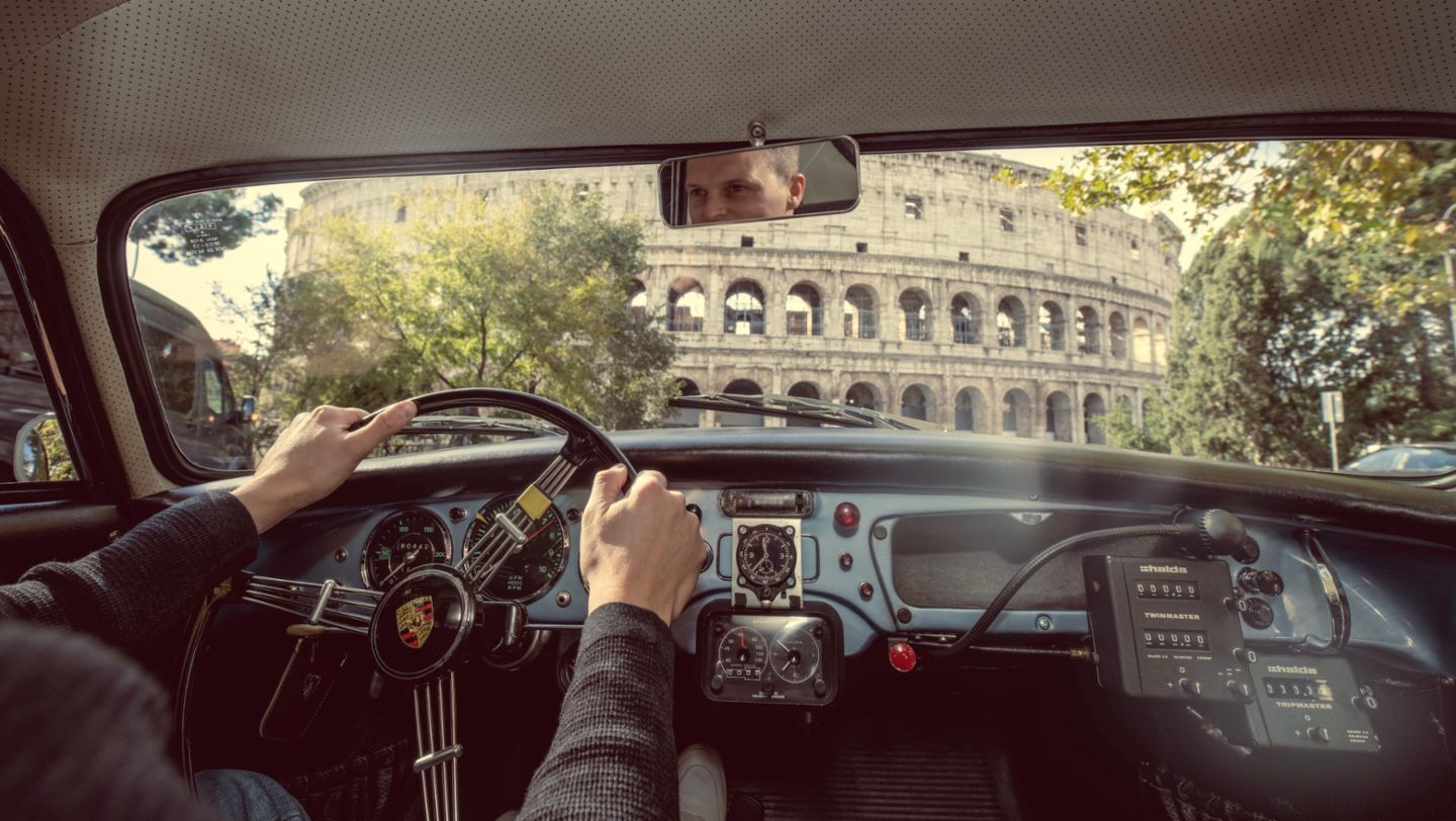 The Porsche 356 on the road to Rome - Image 1