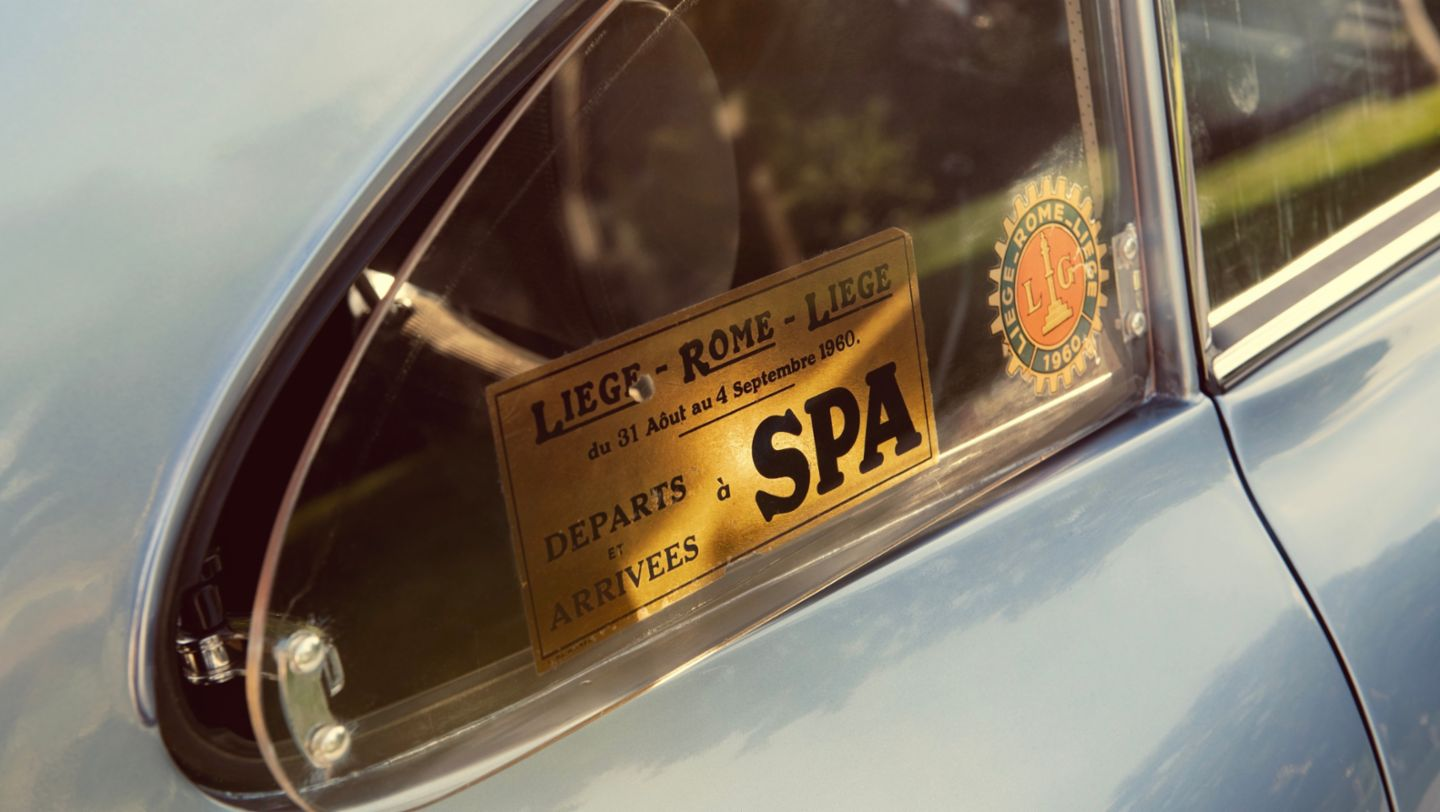 The Porsche 356 on the road to Rome - Image 2