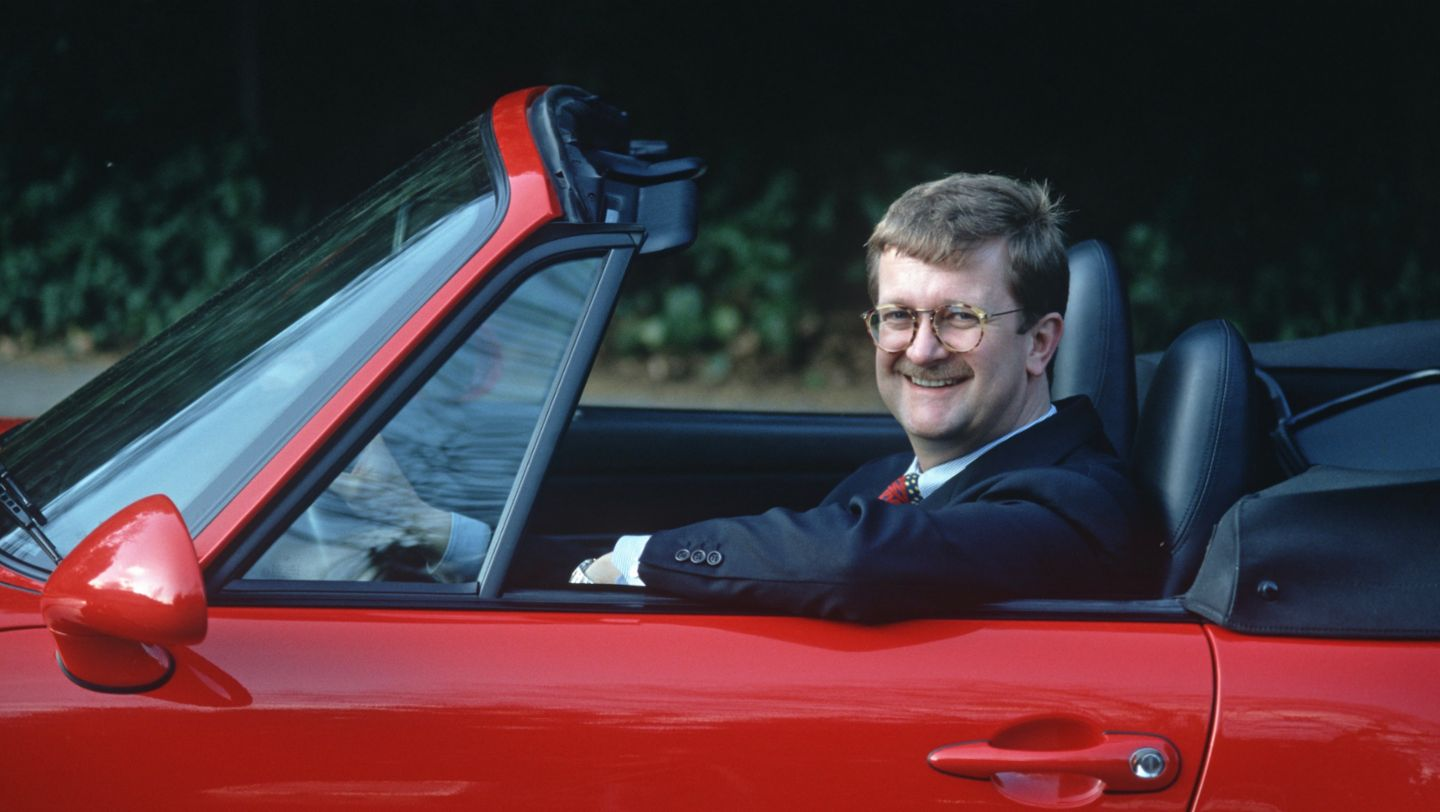 Wendelin Wiedeking, 1995, Porsche AG