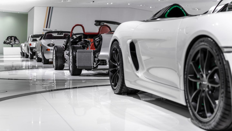 "Special exhibition ""25 Years of the Boxster"", Porsche Museum, 2021, Porsche AG"