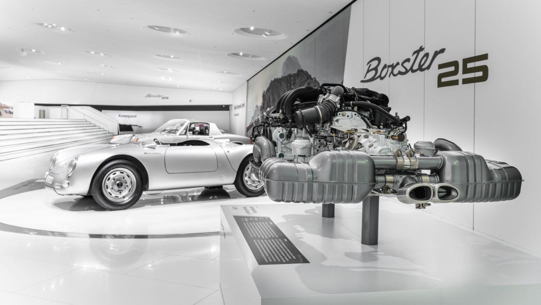 "550 Spyder, 914/4, Special exhibition ""25 Years of the Boxster"", Porsche Museum, 2021, Porsche AG"