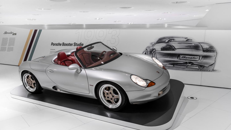 "986 Boxster, Special exhibition ""25 Years of the Boxster"", Porsche Museum, 2021, Porsche AG"