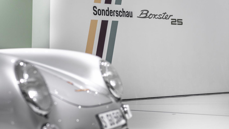 "550 Spyder, Special exhibition ""25 Years of the Boxster"", Porsche Museum, 2021, Porsche AG"
