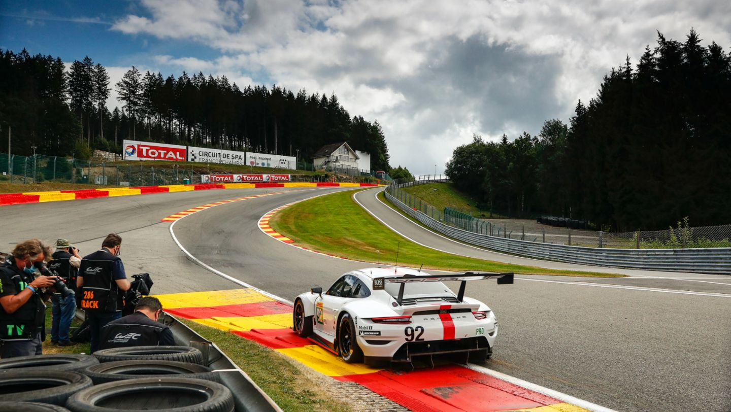 Data from the Porsche 911 RSR transferred in milliseconds - Image 6