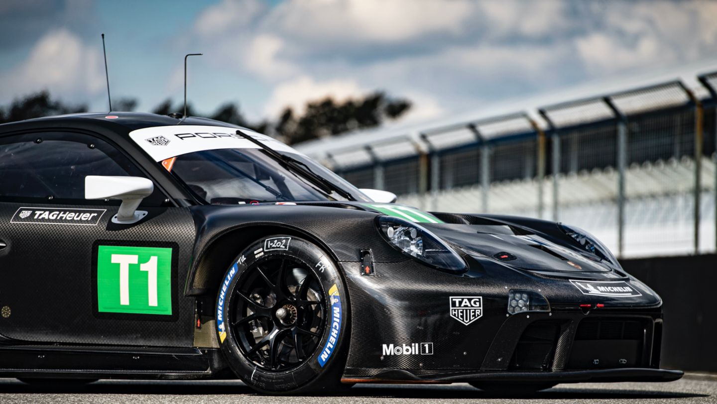 Data from the Porsche 911 RSR transferred in milliseconds - Image 4