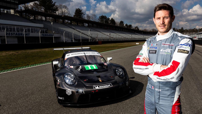 Kévin Estre, 911 RSR, 2021, Porsche AG