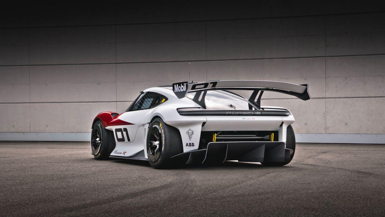 Mission R, Concept study, 2021, Porsche AG
