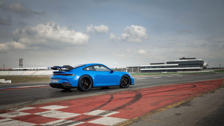 911 GT3, Porsche Experience Center Hockenheimring, 2021, Porsche AG