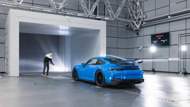911 GT3, Weissach Development Centre, 2021, Porsche AG