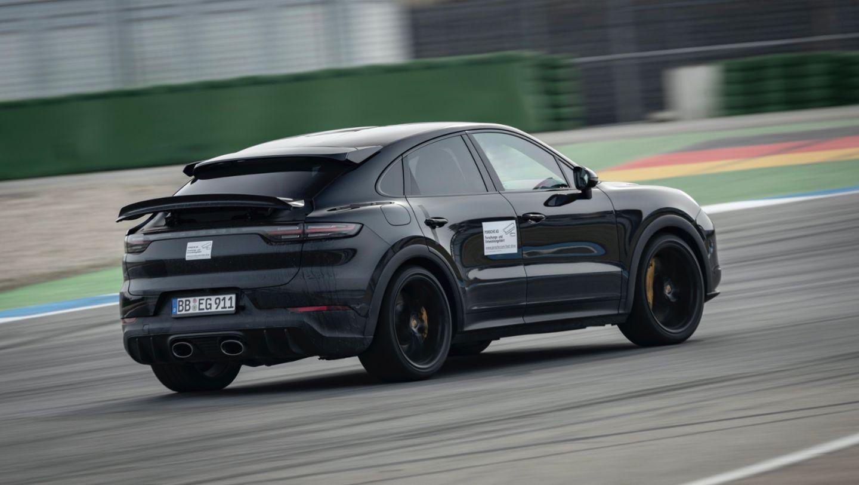 Prototype of the Cayenne, Hockenheimring, 2021, Porsche AG