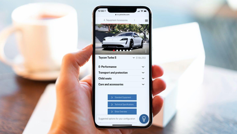 Taycan Turbo S, Recommendation Engine, Porsche Car Configurator, 2021, Porsche AG