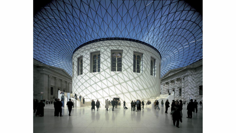 Great Court, British Museum, London, Great Britain, 2021, Porsche AG