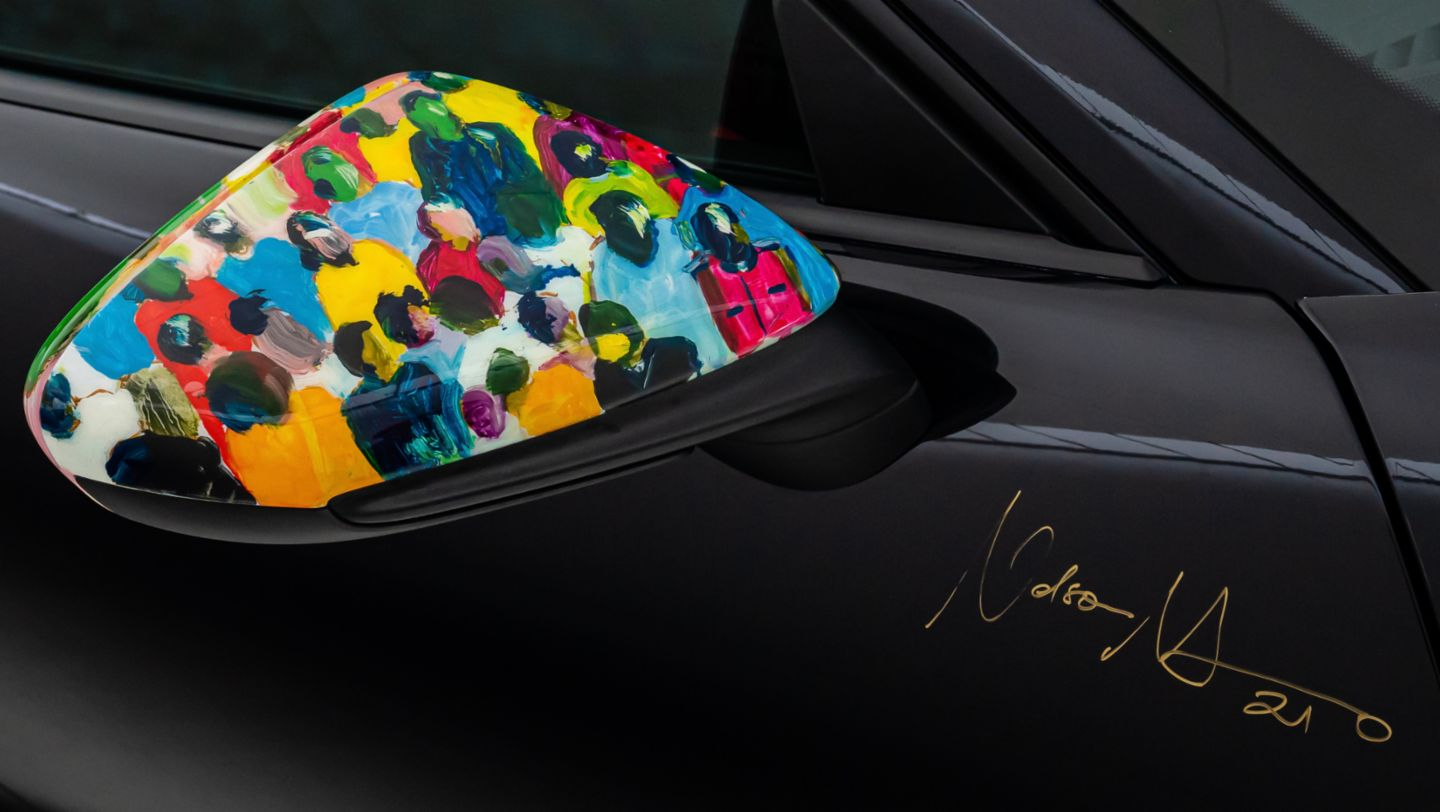 A moving masterpiece: artist Nelson Makamo and his one-off Porsche 911 Carrera - Image 1