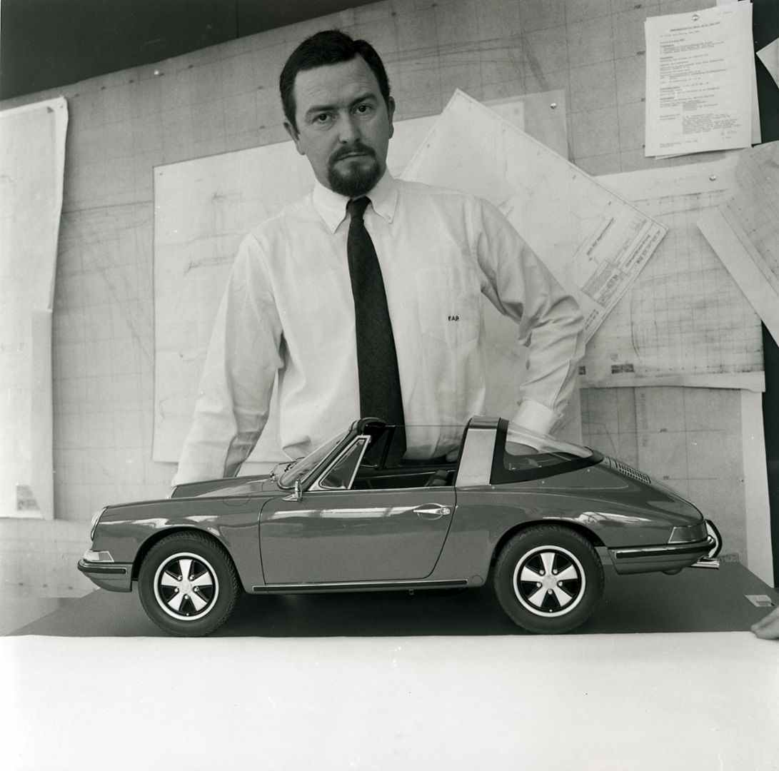 Ferdinand Alexander Porsche, 1968, Corporate Archives Porsche AG