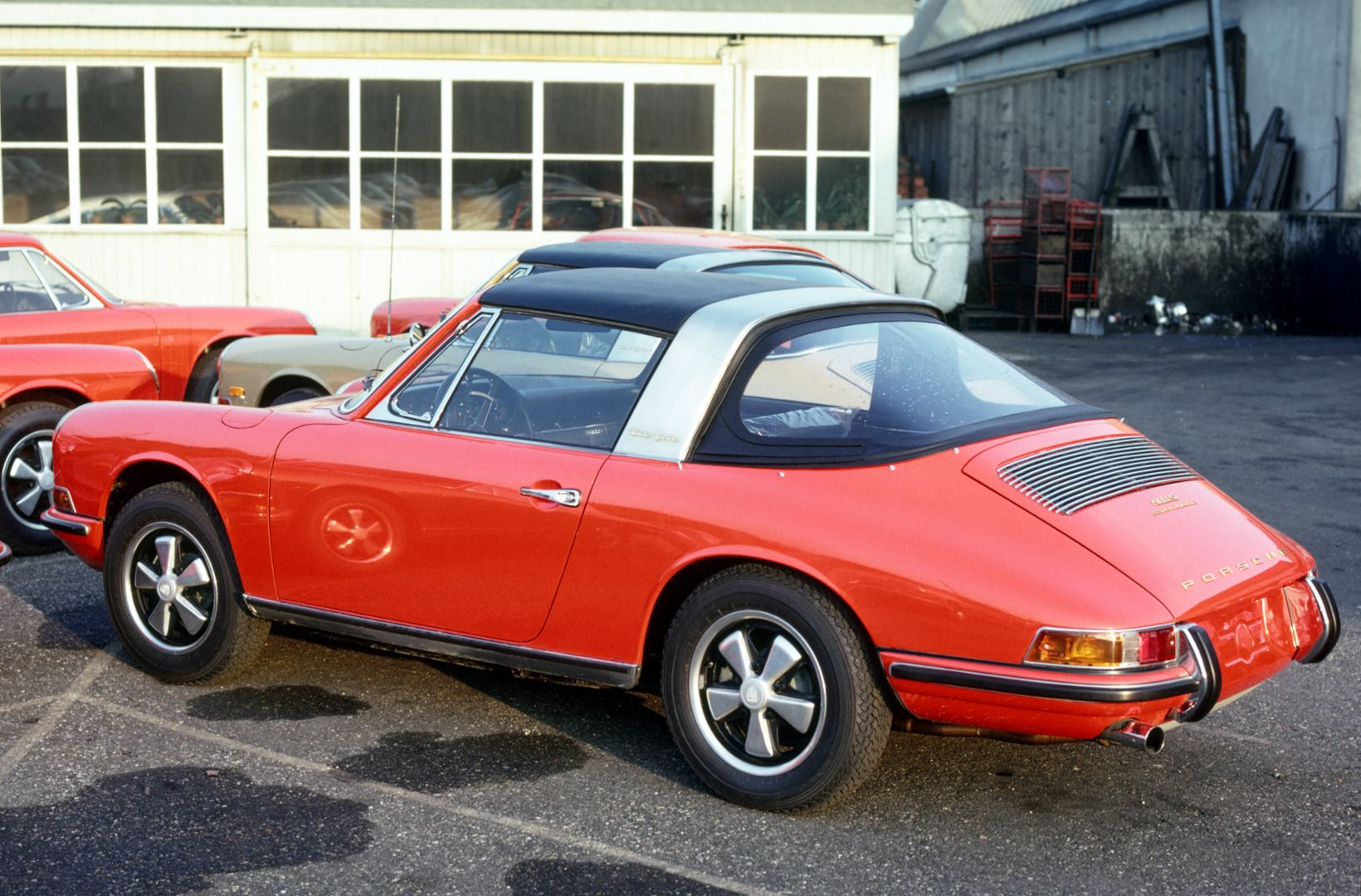 Porsche 911 S 2.0 Targa, 1968, Corporate Archives Porsche AG