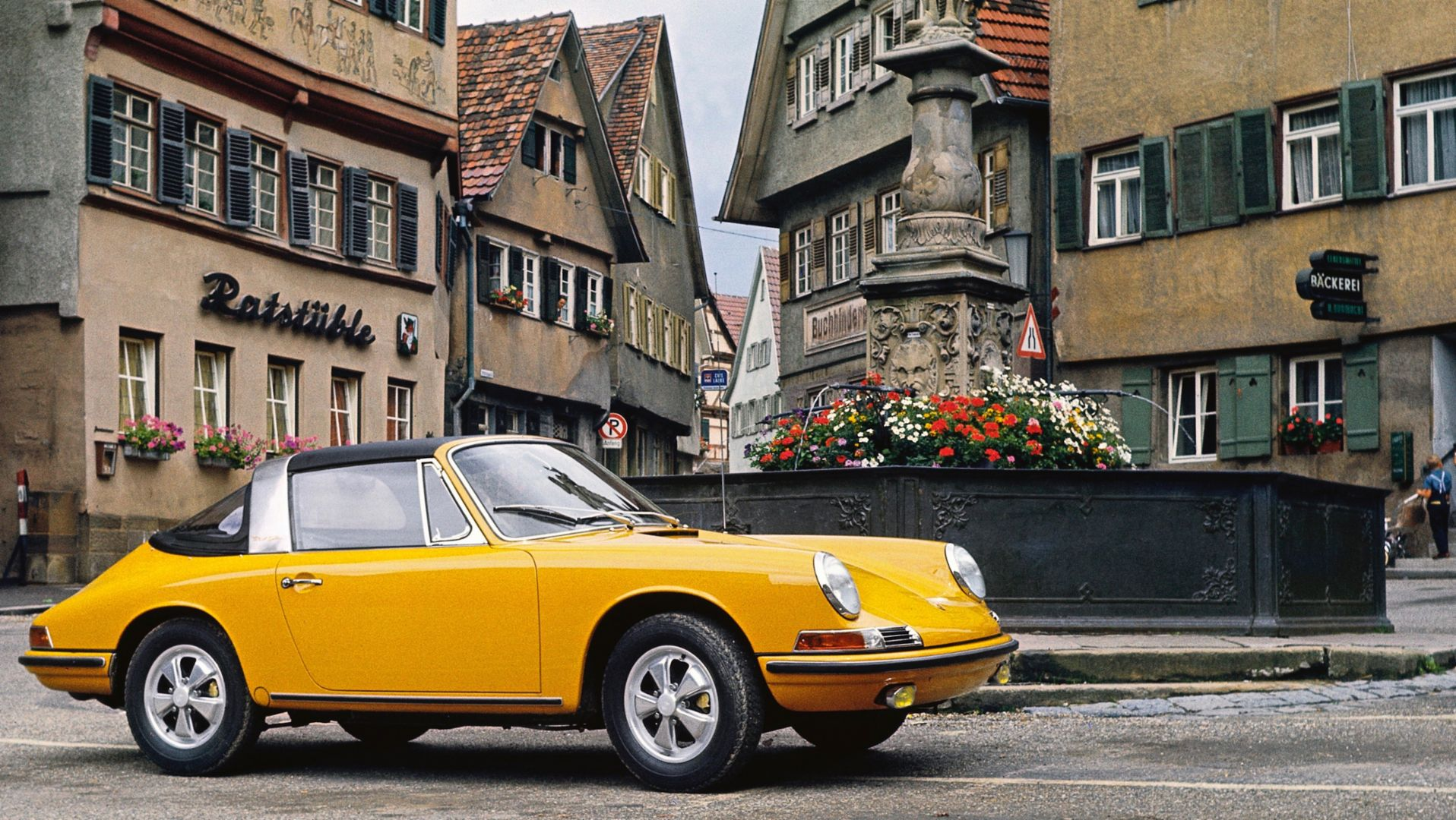 Porsche 911 S 2.0 Targa, 1967, Corporate Archives Porsche AG