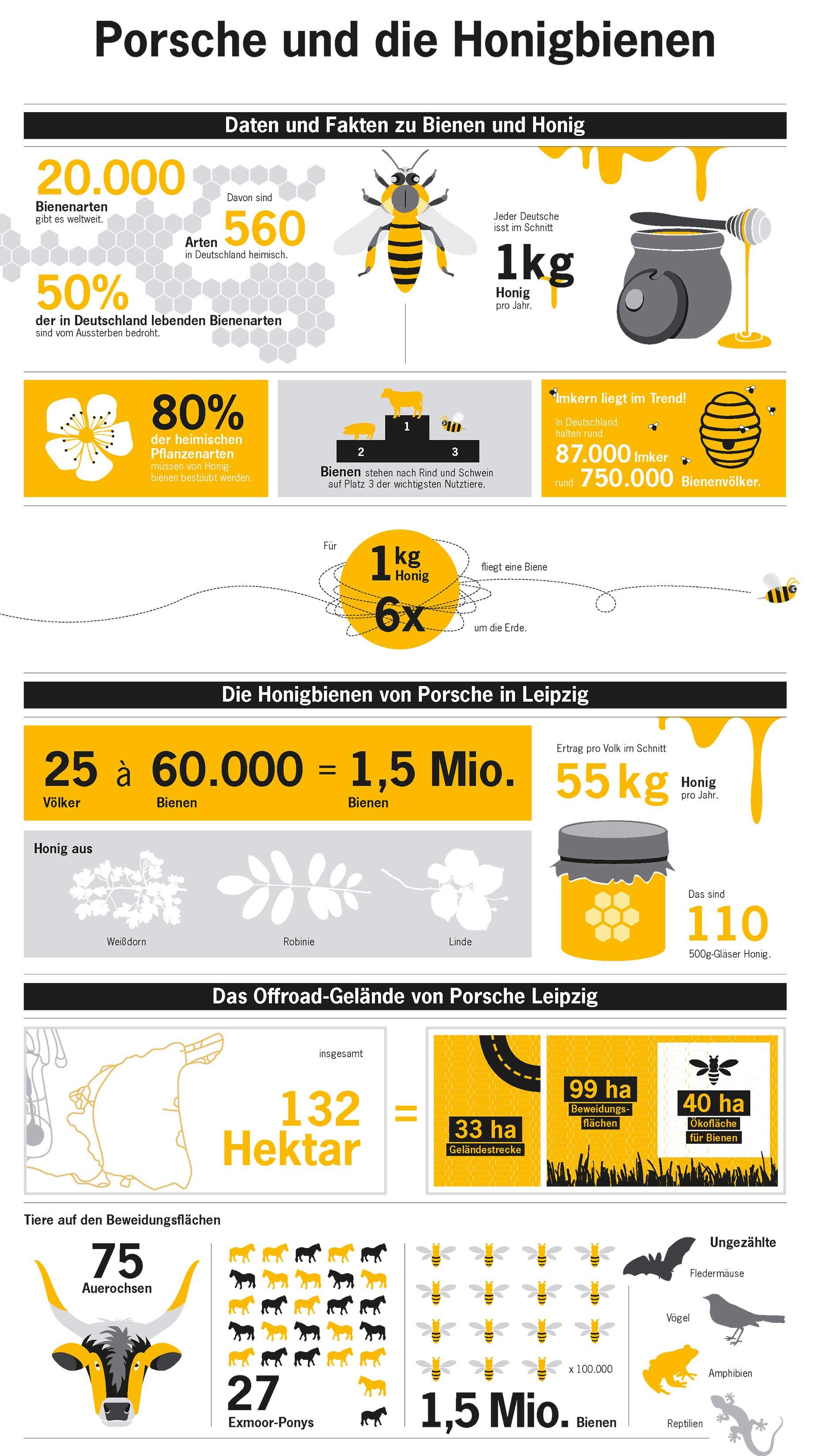 porsche siedelt in leipzig 1 5 millionen honigbienen an. Black Bedroom Furniture Sets. Home Design Ideas