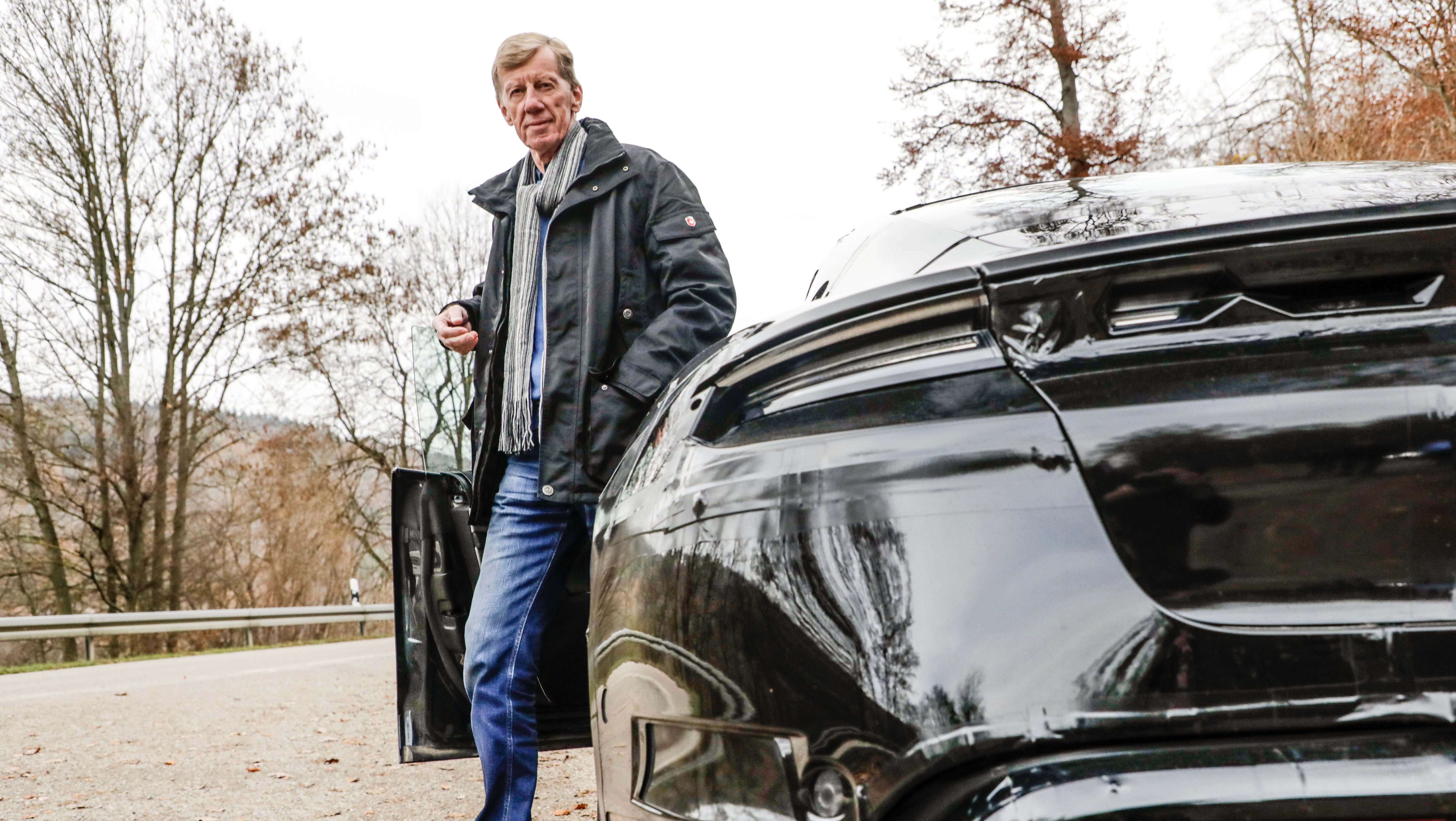 Walter Röhrl tests the all new Taycan
