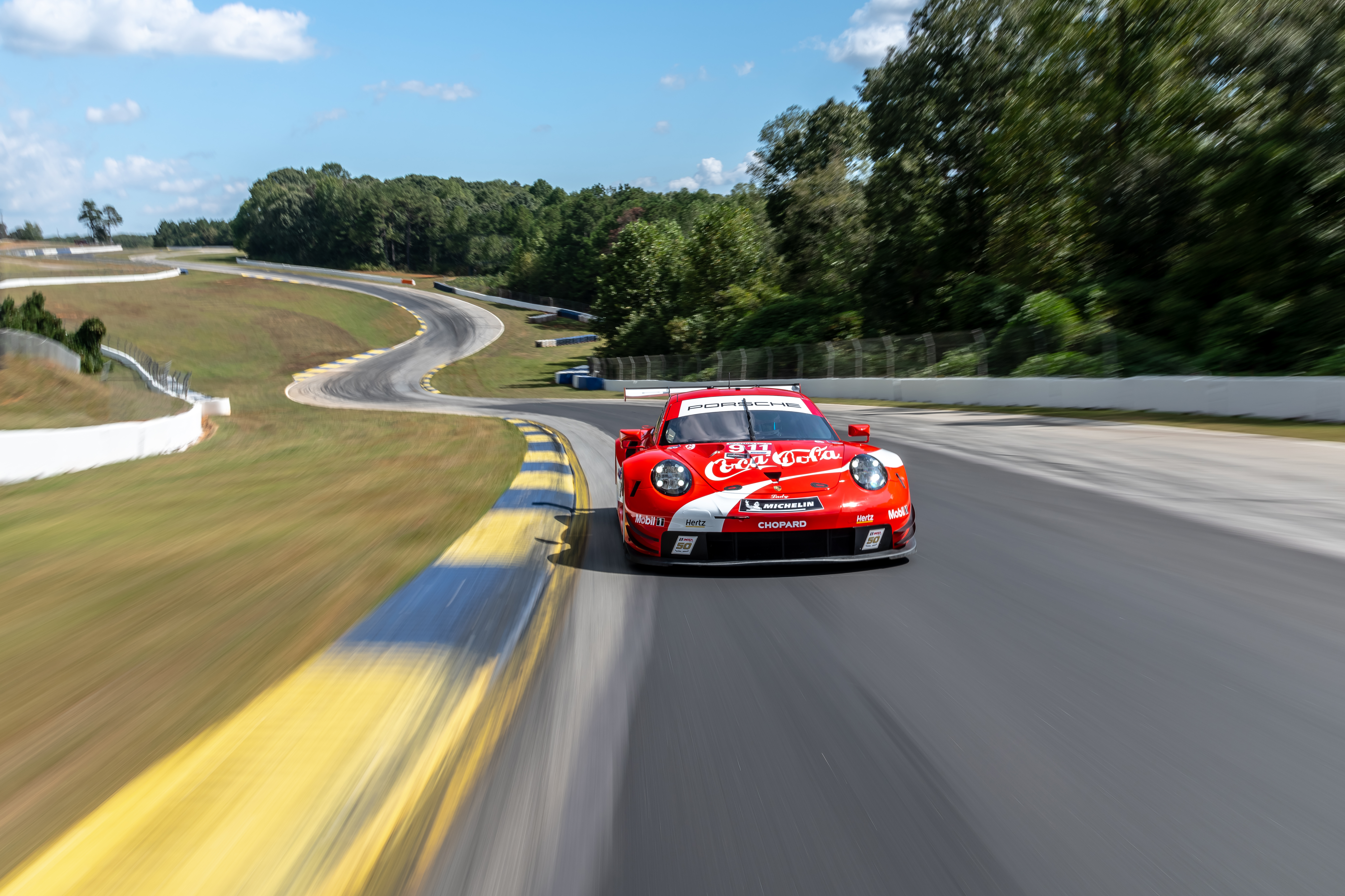 Coca-Cola Porsche GT Team Porsche 911 RSR, Michelin Raceway Road Atlanta, 2019, PCNA