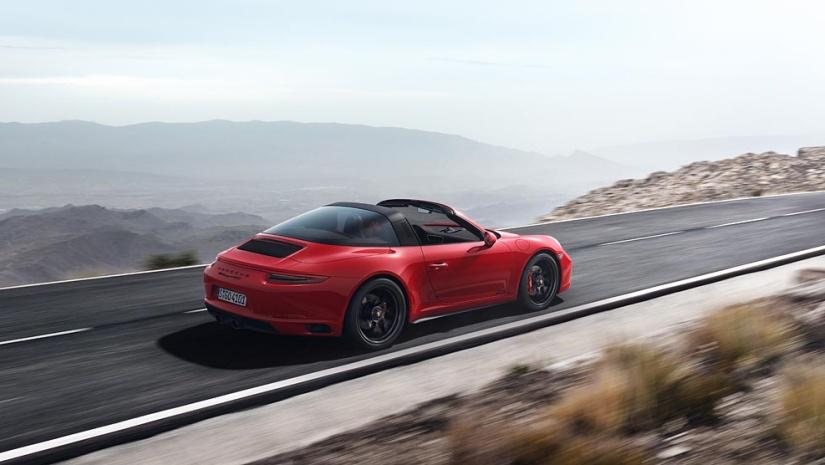 911 Targa 4 GTS, 2017, Porsche AG