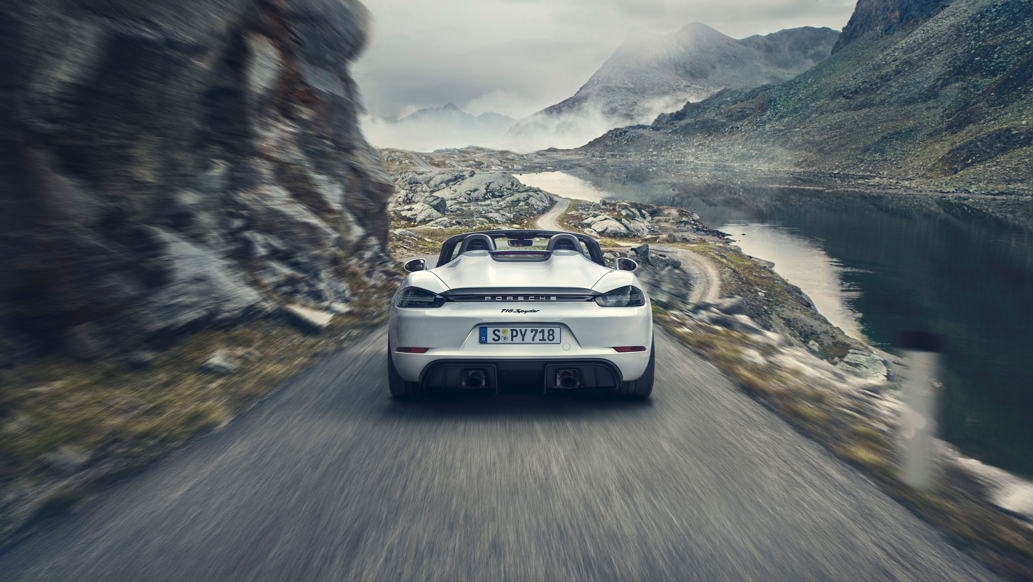 Hungry for every curve: The Porsche 718 Spyder