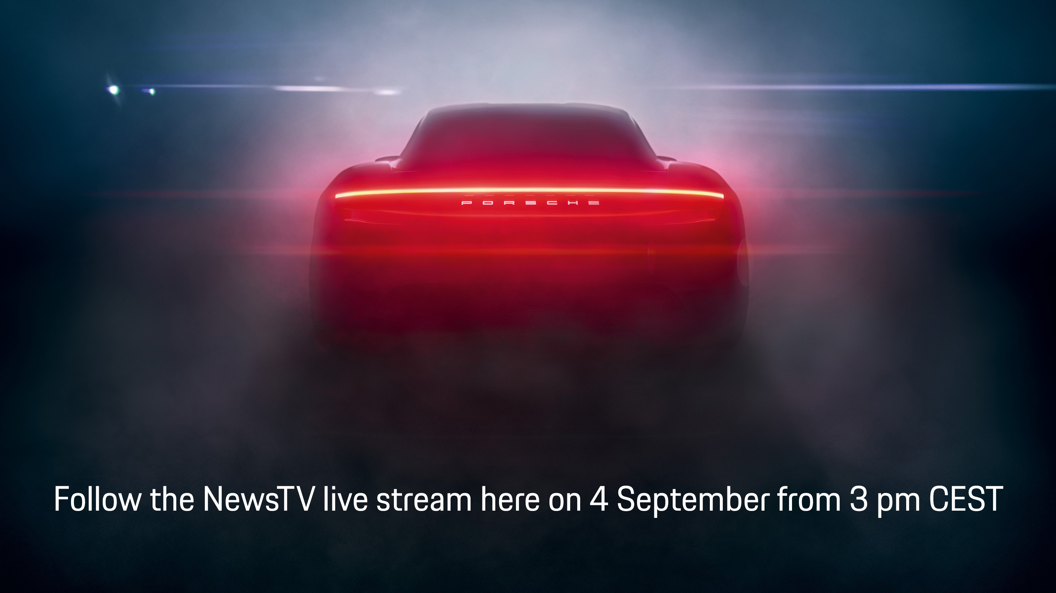 Live broadcasting of the world premiere of the brand new Porsche Taycan