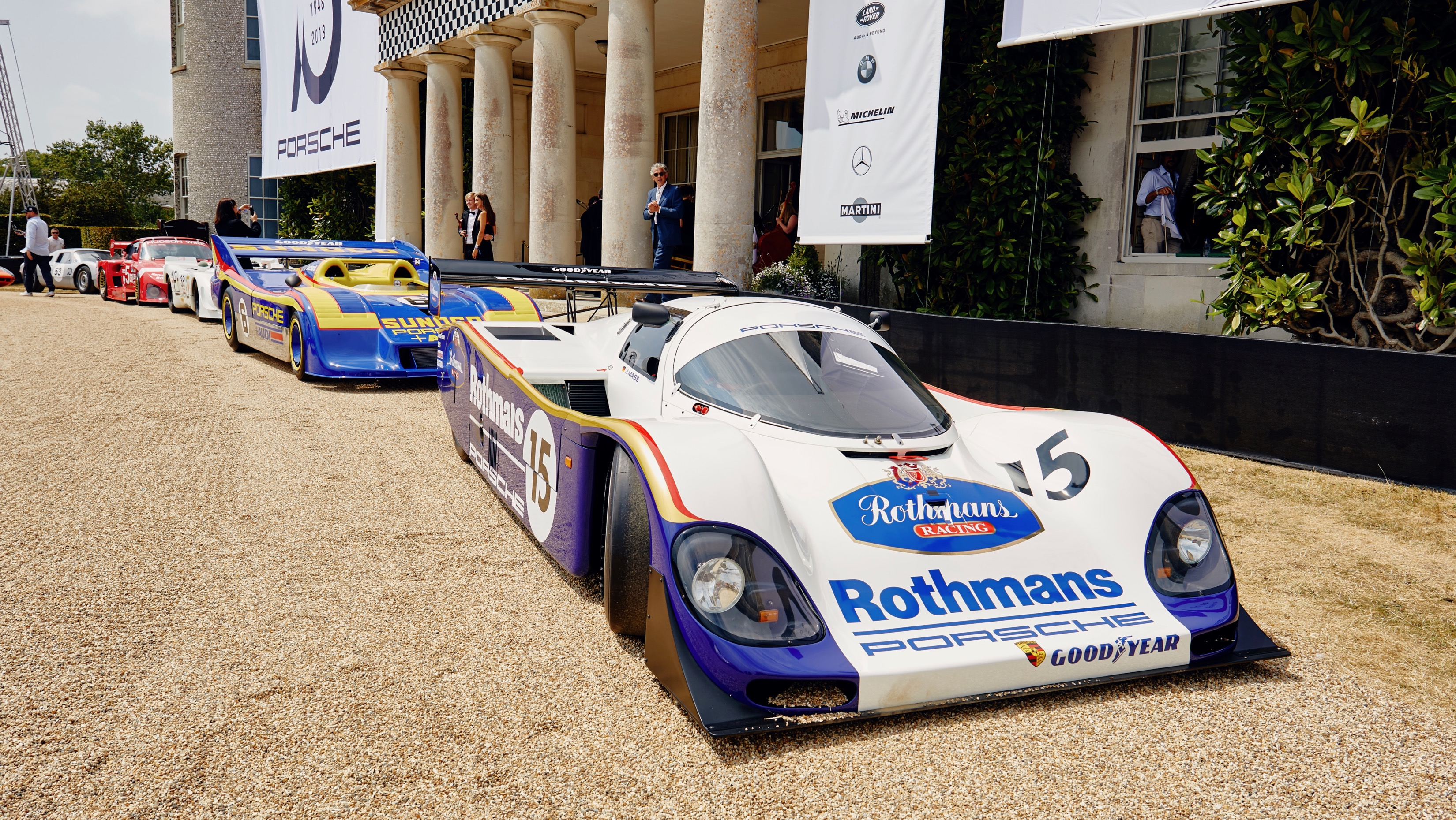 Porsche 962 C (1987), Goodwood Festival of Speed, 2018, Porsche AG