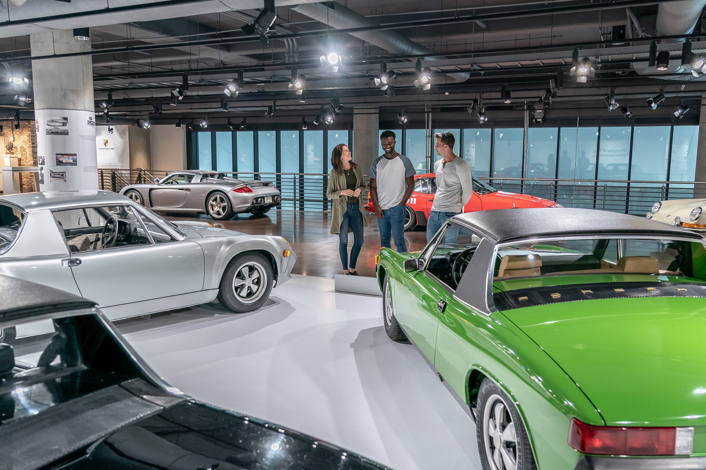 Porsche Experience Center Atlanta, Heritage Gallery, 2020, PCNA