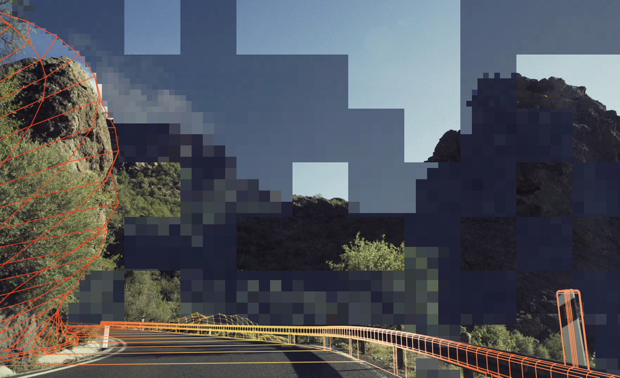 Restless grids: FIELD breaks the route down into its individual parts