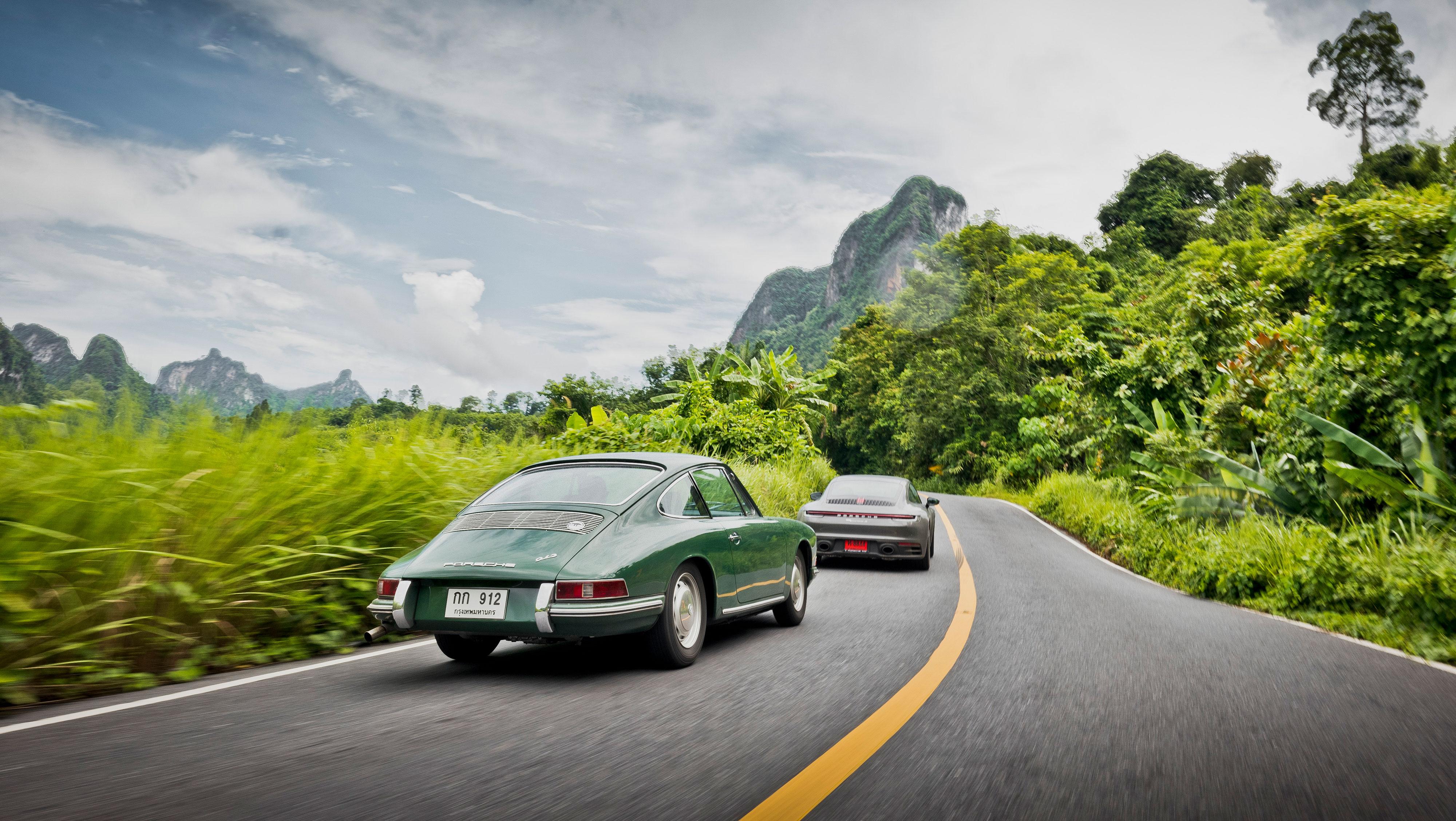 b16baf3cae Las ocho generaciones del 911, juntas en un 'road trip'