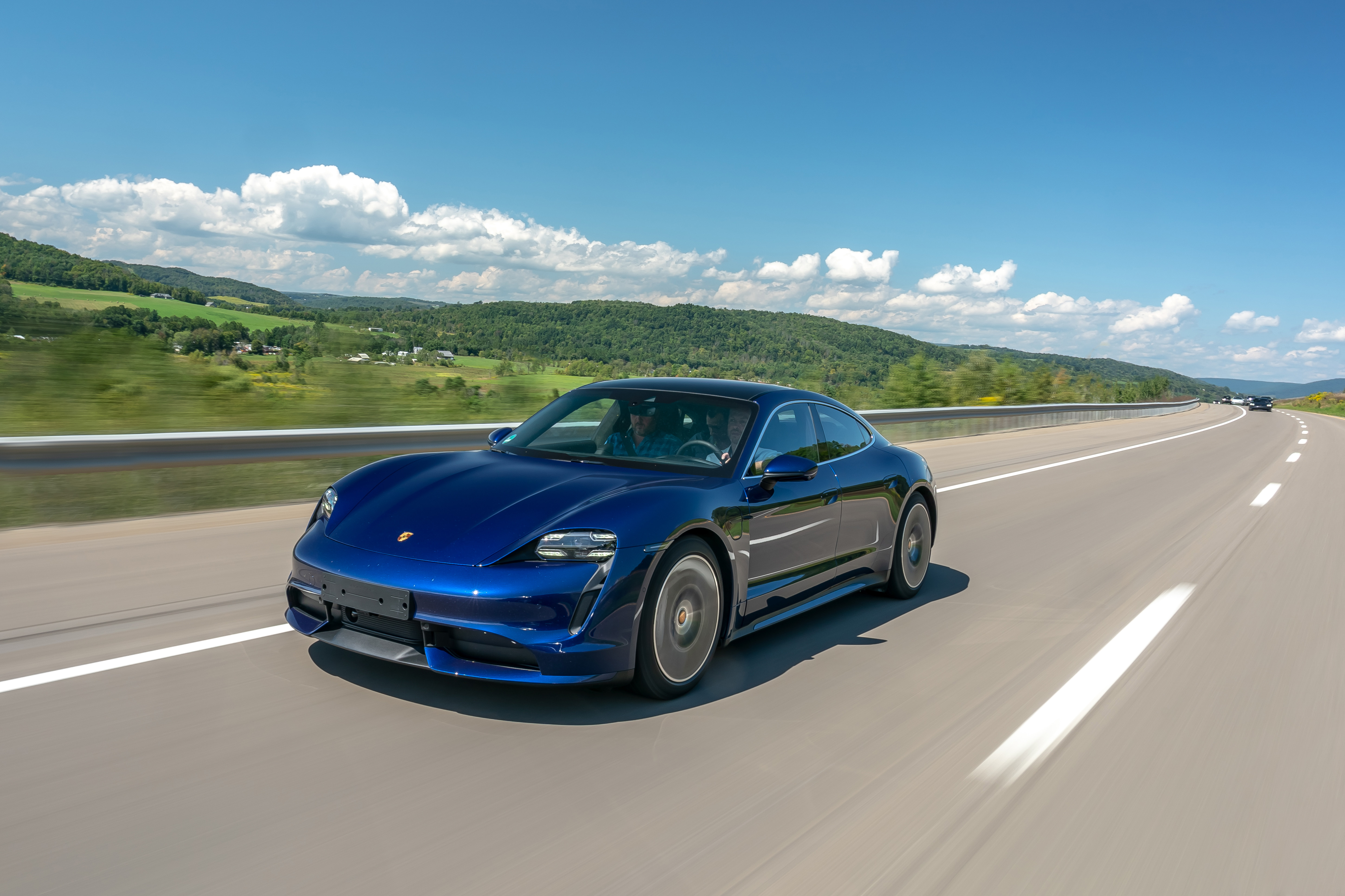 Porsche Taycan Turbo hits the road for the first time, Taycan Turbo, 2019, PCNA