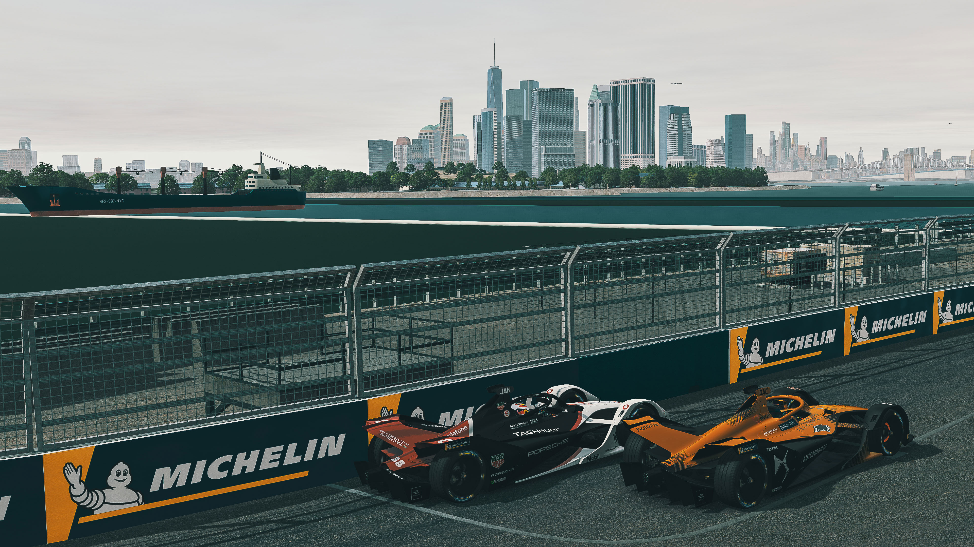 Good pace from Jani in New York – fourth consecutive podium for Rogers - Image 1