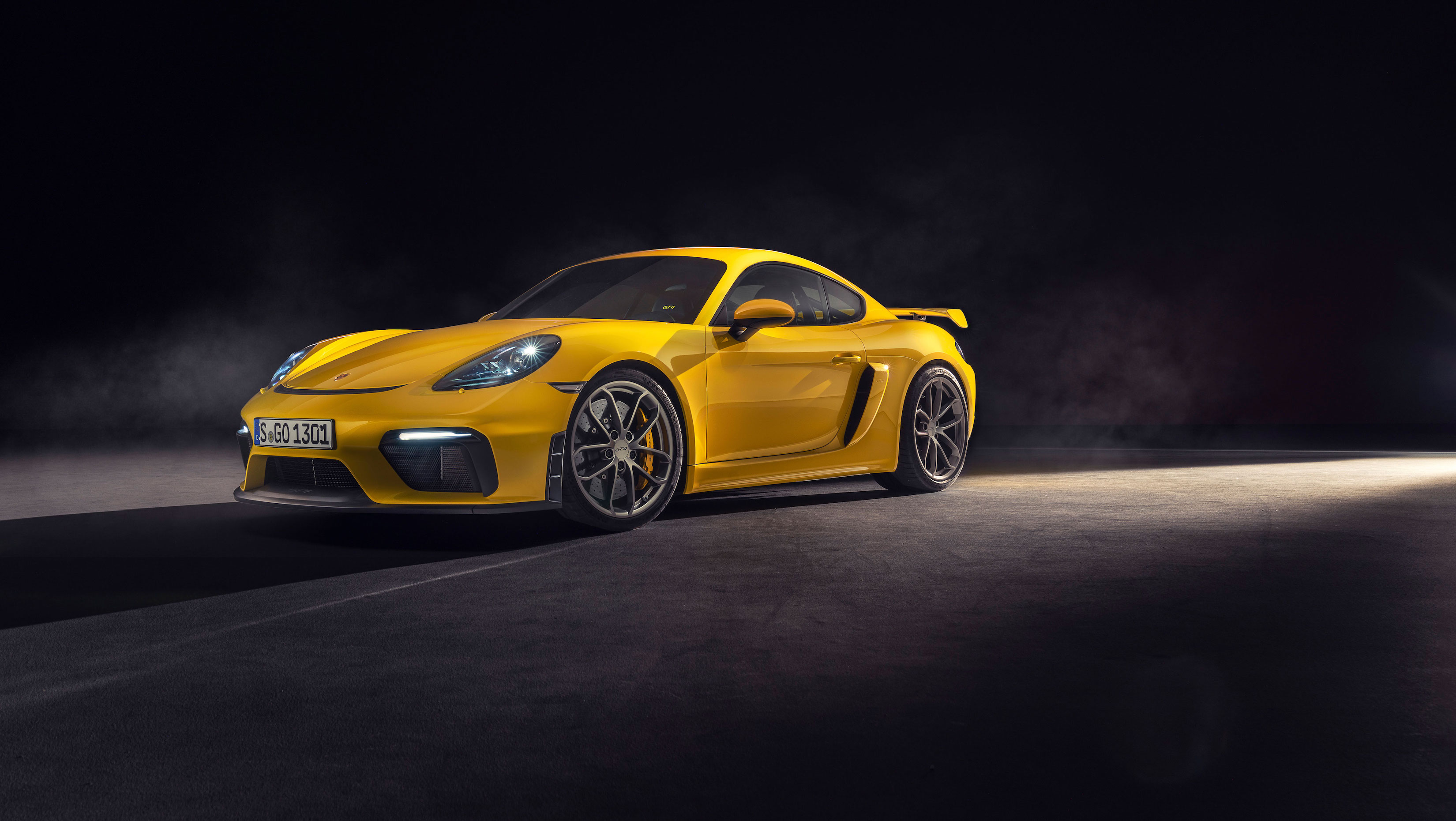 Optimised for the racetrack: The 718 Cayman GT4