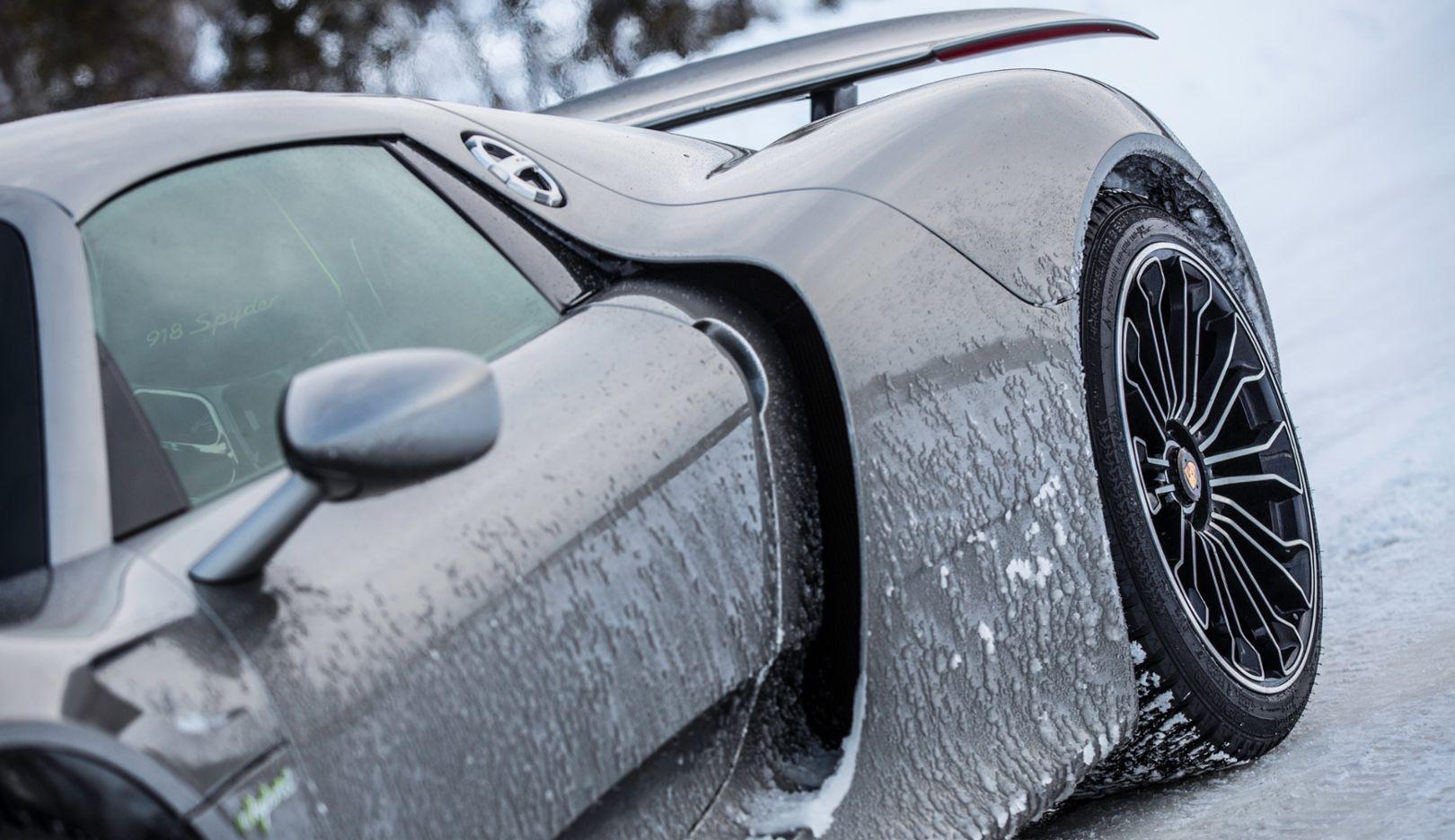 918 Spyder, Porsche Driving Experience, Ice Force, Levi, Finnland, 2015, Porsche AG